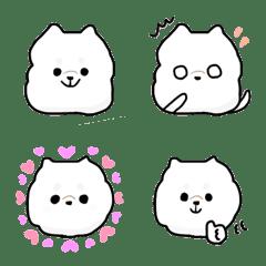 白いわんこ♡