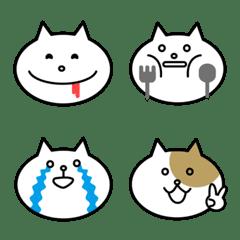 シンプルなネコ