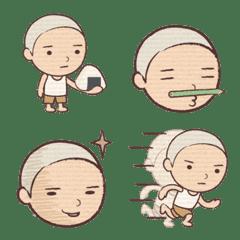 毎日使える男の子絵文字(ぼうず)