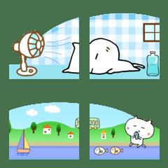 吹き出しのフッター②(3個で1セット)