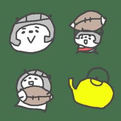 ラグビーパンダ絵文字!