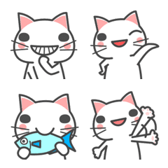 大人が毎日使える♡可愛い猫の絵文字♡