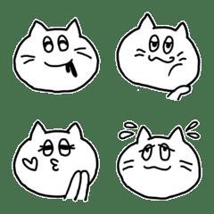 らくがきネコさん (白)