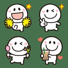 大人可愛い♡シンプル絵文字【全身】