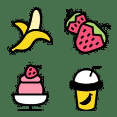 Emoji : Strawberry & Banana