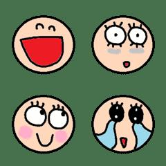 many face emoji1