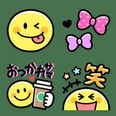 Smiley & Colorful pop