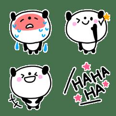 毎日使えるかわいいパンダ絵文字(2)