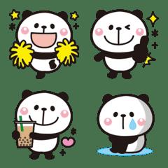大人かわいい♡パンダの絵文字【全身】