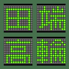 電光絵文字 山手ライン02