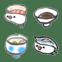 お寿司文鳥さん