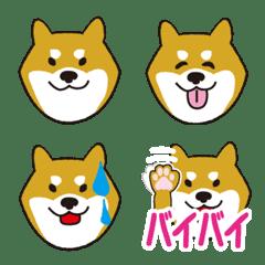 柴犬 シンプル 絵文字