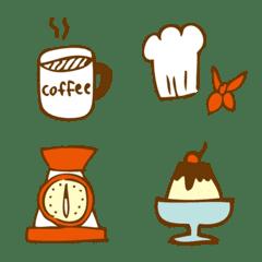 【カフェ好きさんの絵文字】