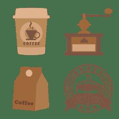 [ コーヒー ] みんなの絵文字 基本セット