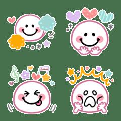 スマイルニコちゃん♡フェミニン絵文字