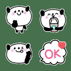 毎日使えるかわいいパンダ絵文字(3)