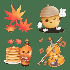 -Fall- 秋の絵文字