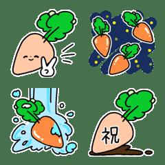 にんじん/キャロット◎絵文字/基本