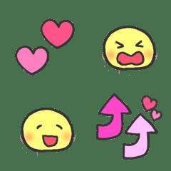 ニコちゃん♡ゆめかわスマイリー絵文字mix