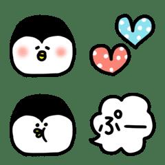 ペンギンのセットで使いやすい絵文字