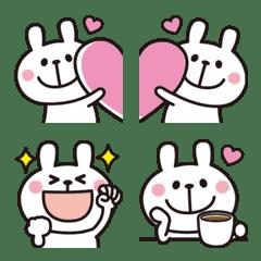 大人かわいい♡うさぎの絵文字5