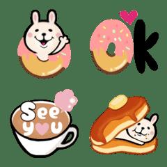 うさぎカフェ♥絵文字