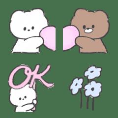 ほんわか♡かわいいフレンズ♡#2(絵文字)