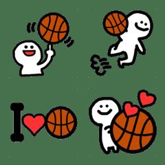 バスケ大好き絵文字