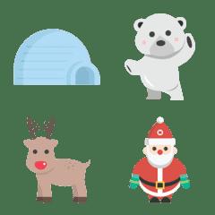 冬・クリスマス・雪の絵文字