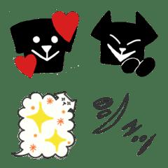黒犬の絵文字