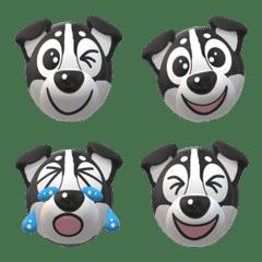 黒柴犬の絵文字