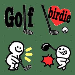 ゴルフ大好き絵文字