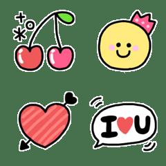 毎日使える☆カラフル絵文字(2)