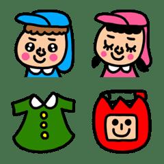 riekimの保育園、幼稚園の絵文字