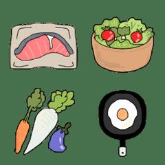 可愛い見やすい食べ物の絵文字
