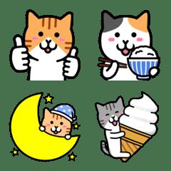 ねこワールド 絵文字 3
