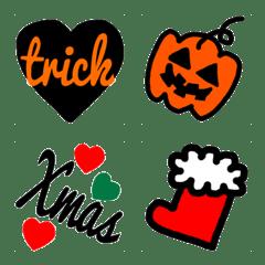 秋冬★ハロウィン&クリスマス