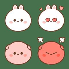 Daifuku & Momo Emoji