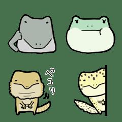 爬虫類の絵文字