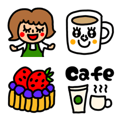 riekimのカフェの絵文字