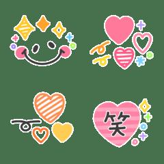 ボールペン♡ハートキラキラmix2