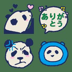 大人も使えるパンダの絵文字