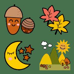 秋色の絵文字