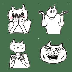ゆるめネコのハッピー絵文字2