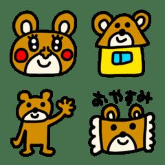 riekimのクマさん絵文字