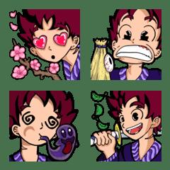 Samurai Boy Emoji