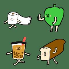面白いキャラクター達の絵文字♡poca