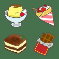 洋菓子の絵文字