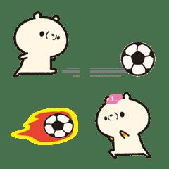 サッカー絵文字 【実況用】可愛い