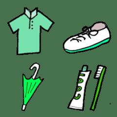 green emoji